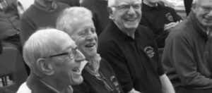 choir members laughing